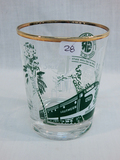 Southern Railroad Glass -