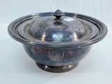 Pennsylvania Railroad Silver Covered Dish