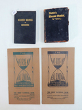 1952 Missouri Masonic Manual; 1899 Shaver's Masonic Monitor; 2 1929 Everyea