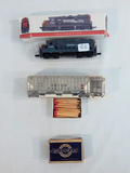 Southern Pacific Railroad Engine; Union Pacific Matches; Pullman Match Box