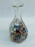 Kentucky Tavern Decanter W/ Vintage Marbles