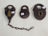 3 Locks - M. W. & Co. Etc.