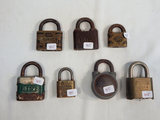 7 Misc. Locks - St. Louis, Fulton, Corbin Etc.