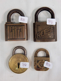 4 Misc. Locks - Fraim, Reese Etc.