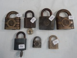 7 Misc. Locks - Yale, 2 W/ Keys