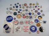 Political Buttons - Various Pinbacks