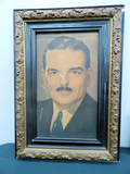 Old Print - Thomas Dewey In Ornate Frame, 19½