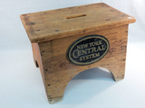 Wooden Railroad Stool