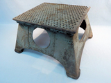 Morton Mfg. Co. Railroad Stool