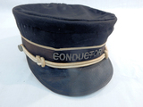 Vintage CB&Q Conductor Cap - As Is