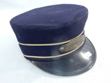 Vintage Boston & Maine Conductor Cap - As Is