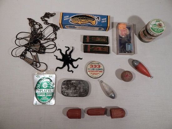 Misc. Vintage Fishing Related Items
