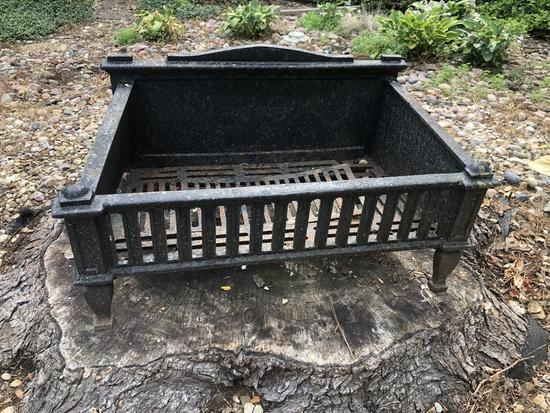 Antique Iron Fire Box