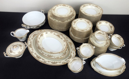 90-piece Goldana By Noritake China Set - Made In Occupied Japan, 2 Platters