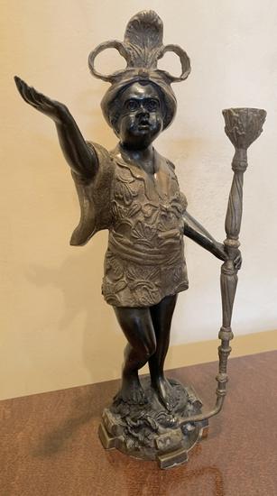 "Blackamoor Cast Figure - 15"" Tall"