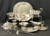 12 Pieces Misc. Silverplate