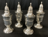 4 Weighted Sterling Shakers