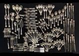 Set Gorham Sterling Flatware - Chantilly - 16 Iced Tea Spoons 13.78 Ozt, 25