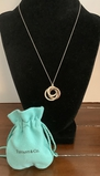 Tiffany & Co. .925 And Metal Tri-circle Necklace - 17