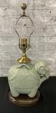 Wildwood Designer Celadon Elephant Lamp - 20