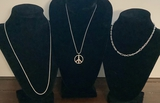 3 .925 Chain Necklaces - 17