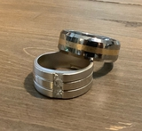 Tungsten Ring - Size 8, Marked