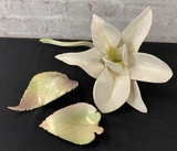 Studio Artist Leaf Bowl;     Studio Artist Leaf Wall Art;     Large Calla L
