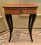 William Switzer Biedermeier 1-drawer Side Table - Austrian Style 21¼