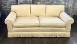 Brian Andrew Custom Upholstered Sofa W/ 4 Pillows - 86