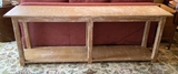 Large William Switzer Long Rustic Table W/ Drawer On Each End - 84
