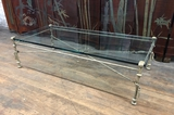 High End Heavy Hand Wrought Iron Coffee Table W/ ¾