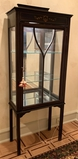 Small Painted Curio Cabinet - 23