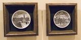 2 Framed Plates On Velvet - 11