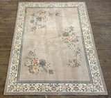 Gobelin Chinese Rug - 100% Virgin Wool W/ Pad, Overall Good Condition W/ Us