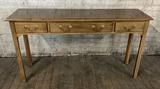 Mahogany Sofa Table W/ 3 Drawers - 52