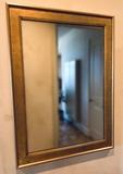 Gold Gilt Wood Framed Mirror - 22½