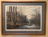 Michael Schofield Lithograph - Eternal Spring, Pencil Signed & Numbered 173