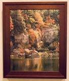 Fall Scene Print On Canvas - Framed, 19