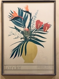 Poster - Framed W/ Glass, Lander, Galerie El-Baz, 1981, 28