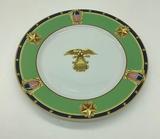 Tiffany & Co. Plate - Commemorating 200th Anniversary Of Capitol Cornerston