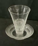 Small Lalique Glass & Underplate