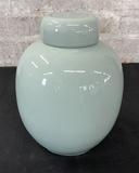 Nice Celadon Ginger Jar - 8