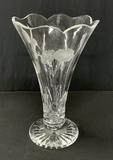 Waterford Crystal Etched Hummingbird Vase - 13¾