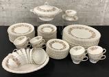 79 Pieces Royal Doulton China - Wayfair, 16 Cups, 17 Saucers, 14 Salad Plat