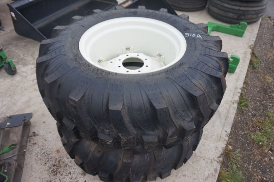 2 17.5l- 24 Tires and Rims