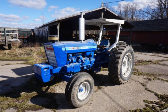 Ford 7000 With Canopy, Diesel