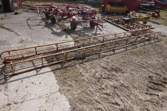 Skeleton Bale Conveyor 20ft With ½ Hp Motor