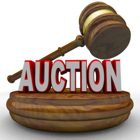 Catalog is now in Auction order