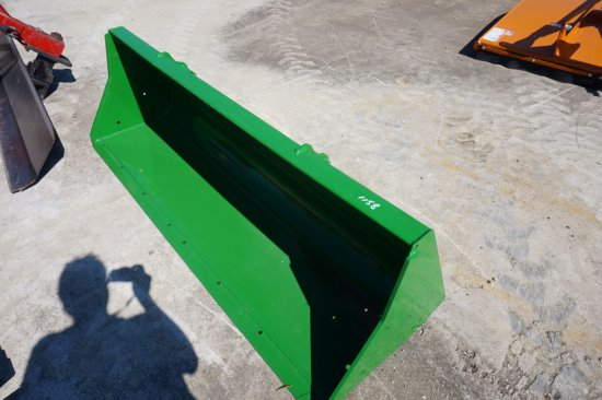 NEW Woods 7' material bucket w/ John Deere style quick connect