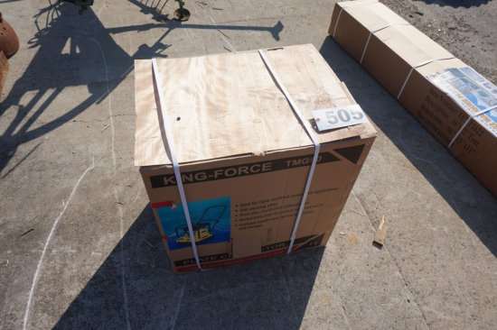 NEW / UNUSED King-Force TMG90 plate compactor